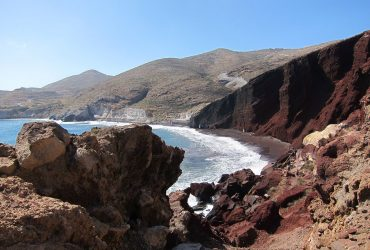 Villawilliams_RedBeach_Santorini